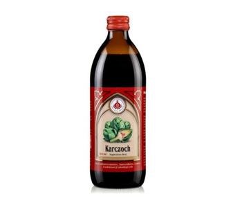 Sok z liści karczocha z dodatkiem witaminy C 500 ml